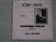 BOBBY FISHER at the HAMMOND ORGAN vol 3 LP  signed