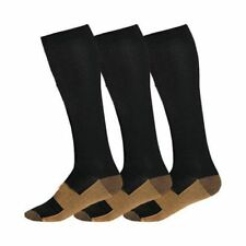 Unisex Copper Infused Compression Socks Graduated Men's Women's S-XXL 20-30mm
