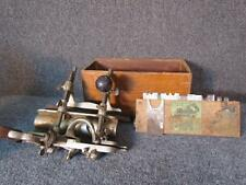 ANTIQUE STANLEY 45 PLANE with SET OF BLADES for WOODWORKING CARPENTRY