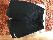 mens nike shorts size small black worn