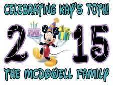 Personalized Disney Mickey Mouse Birthday Family Cruise Stateroom Door Magnet