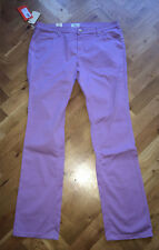 "BNWT CERRUTI WOMENS SKINNY LEG REGULAR FIT LILAC MEDIUM WAIST JEANS 34"" X 34"""