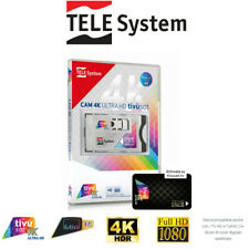 More details for telesystem tivùsat 4k ultra hd cam + tivùsat smartcard*
