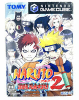 Jeu Gamecube Naruto Gekitou Ninja Taisen 2 Import Japon Nintendo GC NTSC-J