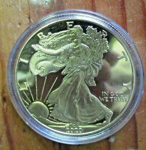2020 GOLD EAGLE 100 MILS .999 GOLD $1.00 COIN