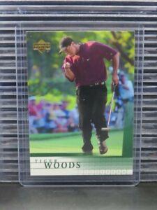 2001 Upper Deck Golf Tiger Woods RC Rookie Card #1 (A) Y277