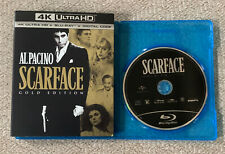 Scarface (Blu-Ray Disc ONLY + Slipcover/Blank Case) NEVER VIEWED! SEE DETAILS!