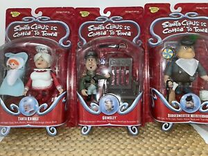 santa claus is comin to town Burgermeister Tanta Grimsley 3 figures