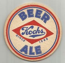 "1950's Kochs Beer & Ale Coaster = Dunkirk, Ny 3 1/2""#011 ""Since 1888"