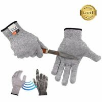 KIM YUAN Breathable Anti-Cutting Resistant Working Chef And Butcher Gloves S/M/L