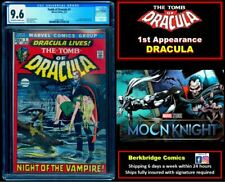 💥 TOMB OF DRACULA 1 CGC 9.6 OW WHITE  1st APPEARANCE 💥 $ 50 OFF w ANY TOD 9.8