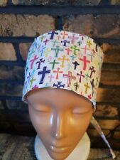 Beautiful Crosses Handmade Surgical Scrub Caps