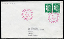 GUADELOUPE: (18039) ST. MARTIN cancel/cover