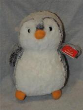 "Gray POM POM PENGUIN Stuffed Animal Plush by Aurora, 9"" Tall 09859 TAGS"