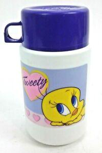 Tweety Bird Thermos With Purple Lid Model #3700