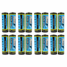 16 x 14430 4/5AA 400mAh 3.2V Volt LiFePO4 Rechargeable Battery HyperPS US Stock