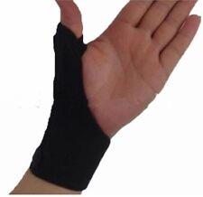 1x Black Adjustable Thumb Stabiliser Support Strap/ Splint/ Brace