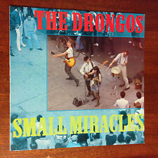 The Drongos 'Small Miracles' Original Proteus Records US 1985 Vinyl LP EX/EX