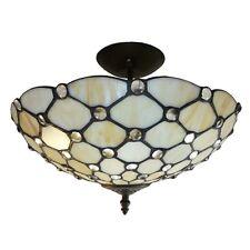 Tiffany Clear Jewel Uplighter Pendant