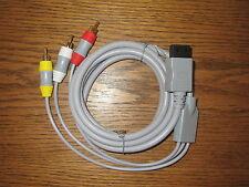 TV/Av Audio Video cinch cable para Nintendo Wii y Wii U