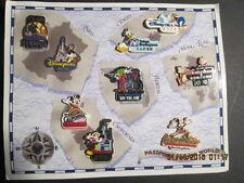 Disney's Passport to our World Pin Set New