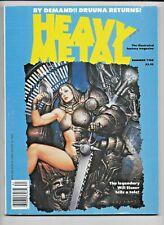 Heavy Metal Magazine Vol 12 #2 Summer 1988  Druuna Serpieri FN/VF 1977 Series
