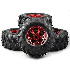 4X 125mm Tyre Tires&Wheel Rims #2R For HSP HPI RC 1/10 Bigfoot Monster Truck Car