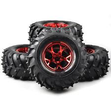 4X 125mm Tyre Tires&Wheel Rims #2R For HSP HPI RC 1/10 Bigfoot Monster Truck Car