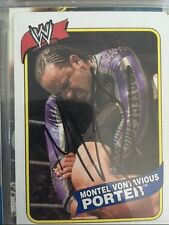 MVP signed WWE 2007 Topps Heritage card autograph WWE WWF