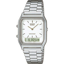 Casio  Mens Collection Combi Bracelet Watch AQ-230A-7DMQ 12 MONTHS WARRANTY