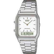 Casio Mens Collection Combi Bracelet Watch Aq-230a-7dmq 12 Months