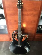 Ovation Celebrity CC44 acoustic/electric 6 string guitar