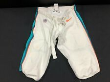 #53 MIAMI DOLPHINS NIKE GAME USED WHITE NIKE PANTS SIZE-40
