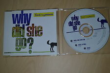 Fool's Garden ‎– Why Did She Go ?. CD-Maxi (CP1710)