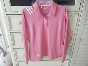 ADIDAS Clima Cool Pink Shirt Size Medium