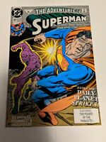 The Adventures of Superman #485 December 1991 DC Comics Ordway Grummett