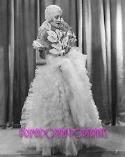 """JEANETTE LOFF 8X10 Lab Photo B&W '30 """"KING OF JAZZ"""" Bride, Wedding Gown Portrait"""