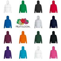 Fruit of the Loom Lightweight Hoodie Hooded Sweatshirt