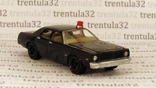 Unmarked Undercover Police Car 1977 DODGE MONACO 77 black Johnny Lightning Loose