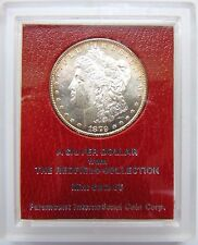 1879 S Morgan Silver Dollar Redfield Hoard Collection Paramount Coin Pedigree