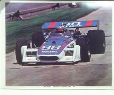 """Mike Mosley 1972 Indy 500 Agajanian Watson Special Reprint 8.5x11"""" Photo"""