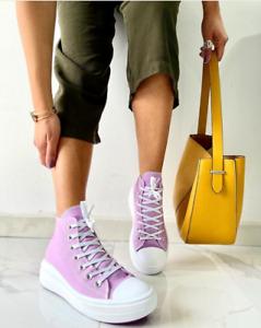Scarpe Donna Da Ginnastica Sneakers Donna Zeppa Para Platform Scarpe Sportive IT