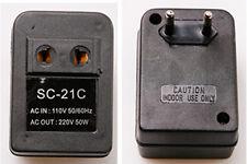 110V to 220V AC 50W Watt Voltage Regulator Converter Transformer Adapter 50/60Hz