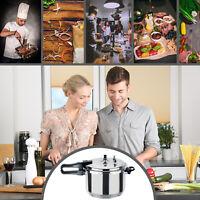 Pressure Cooker Induction Hob 3L 5L 7L Aluminium Crystals Cookware