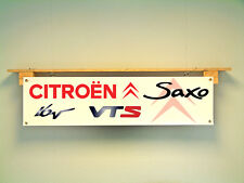 CITROEN SAXO VTS Banner 16V Workshop Garage Show Auto Display