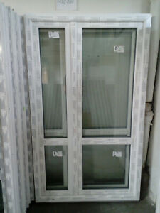 Kunststoffbalkontür (Kunststoff - Balkontür) 120x200 cm bxh, (1200x2000 mm bxh)