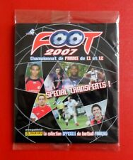 PANINI FOOT 2007 SET TRANSFERTS extra stickers NEUF sous BLISTER Ligue mercato
