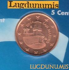 Saint Marin 2004 5 centimes d'euro SUP SPL Pièce neuve San Marino