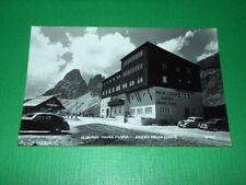 Cartolina Passo Sella - Albergo Maria Flora 1935 ca.
