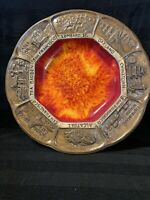 Vintage Treasure Craft Ashtray or Trinket Dish. San Francisco Landmarks. Nice!